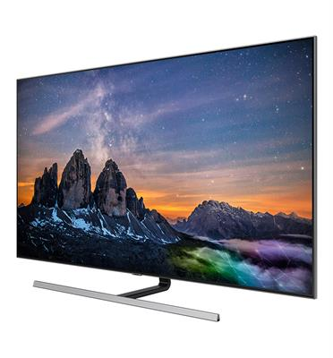 """טלוויזיה """"65 4K FLAT QLED SMART TV תוצרת SAMSUNG דגם 65Q80R"""