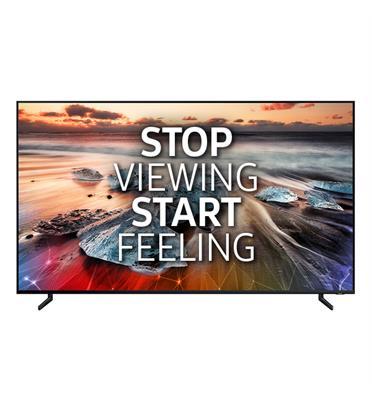 """טלוויזיה """"65 8K FLAT QLED SMART TV תוצרת SAMSUNG דגם 65Q900R"""