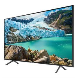 """טלוויזיה """"55 SMART TV FLAT LED 4K תוצרת SAMSUNG דגם 55RU7100"""