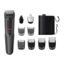מכונת תספורת הערכה המושלמת לטיפוח שיער הפנים והגוף תוצרת PHILIPS דגם MG3757/15
