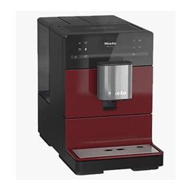 מכונת קפה OneTouch מעוצבת על משטח העבודה תוצרת MIELE דגם CM5300 RED