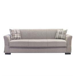 ספה תלת מושבית נפתחת למיטה עם ארגז מצעים גדול מבית BRADEX דגם VERSUS