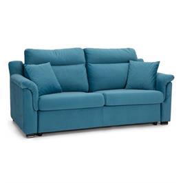 ספה מעוצבת מגיעה כסלון פינתי או ספה דו מושבית נפתחת למיטה מבית AEROFLEX דגם ALESSIA