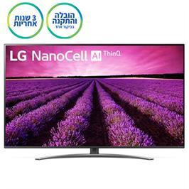 """טלוויזיית """"55 LED Smart TV ברזולוציית 4K Ultra HD בטכנולוגיית תוצרת LG דגם NanoCell 55SM8100"""