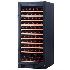 מקרר יין 83 ליטר מיועד לאחסון עד 34 בקבוקים מבית LANDERS דגם LA110BK