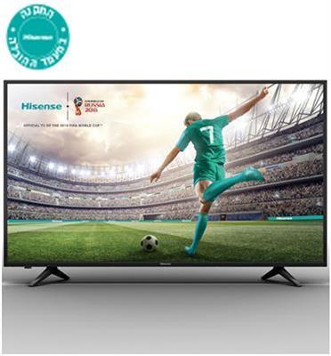 "טלויזיה ""65 SMART LED TV 4K Ultra HD תוצרת Hisense דגם H65A6130IL"