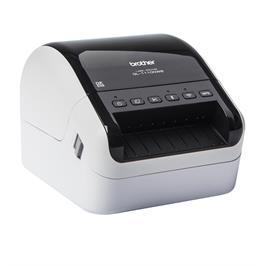 מדפסת מדבקות הדפסת פונטים וברקודים ישירות מהמחשב מבית Brother דגם QL-1100