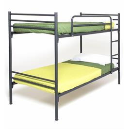 מיטת קומותיים 190/90 חזקה ויציבה ממתכת תוצרת BRADEX דגם VOLARE