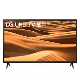 """טלויזיה חכמה """"43 LED 4K Smart TV עם פאנל IPS, אינדקס עיבוד תמונה תוצרת LG דגם 43UM7340"""