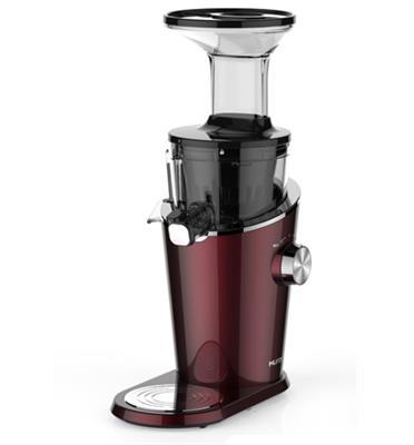 מסחטת מיצים מנוע 200 וואט מבית HUROM דגם H100 צבע אדום יין