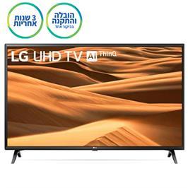 """טלויזיה חכמה """"65 LED 4K Smart TV עם פאנל IPS, אינדקס עיבוד תמונה תוצרת LG דגם 65UM7340"""