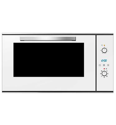 """תנור בנוי 90 ס""""מ בעיצוב חדשני ויוקרתי בגימור לבן מבית SAUTER דגם SBI9900W"""