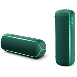 רמקול נייד BT-NFC עיצוב מיוחד וקומפקטי עמידות במים תקן IP67 מבית SONY דגם SRS-XB22 גוון ירוק