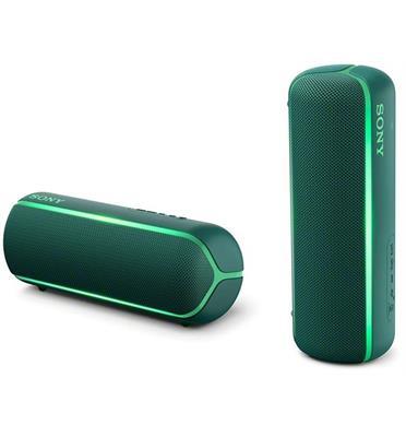 רמקול נייד BT-NFC עיצוב מיוחד וקומפקטי עמידות במים תקן IP67 מבית SONY דגם SRS-XB22