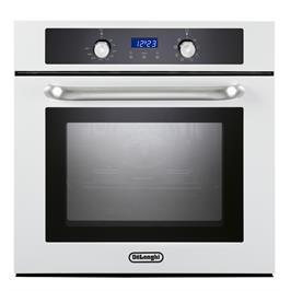 תנור אפיה בנוי מפואר 8 תכניות צבע לבן תוצרת DELONGHI איטליה דגם NDB443W