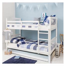מיטת קומותיים עם מיטת חבר כולל מזרנים מבית BRADEX דגם DIANA
