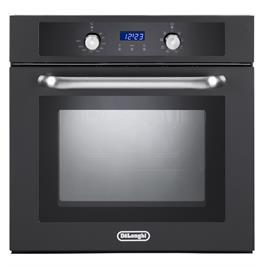 תנור אפיה בנוי מפואר 8 תכניות צבע שחור תוצרת DELONGHI איטליה דגם NDB443AN