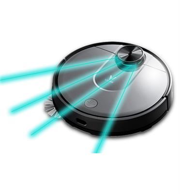 """שואב אבק רובוטי תכנון מסלול חכם שאיבה חזקה שליטה חכמה ע""""י WiFi מבית Viomi דגם V2 רונלייט"""