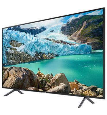 """טלוויזיה """"75 SMART TV FLAT 4K LED תוצרת SAMSUNG דגם 75RU7100 יבוא מקביל"""