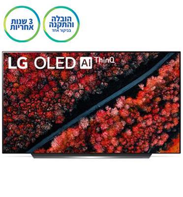 טלוויזיה 55 אינץ' בטכנולוגיית OLED ברזולוציית 4K Ultra HD מבית LG דגם OLED 55C9