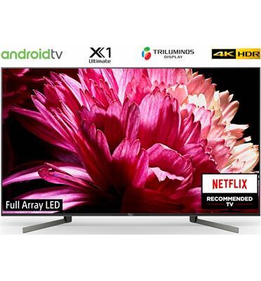 """טלויזיה """"65 4K LED TV תוצרת Sony דגם KD-65XG9505BAEP"""