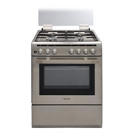 תנור אפיה משולב כיריים גז בנפח 69 ליטר תוצרת Normande דגם ND-6262P