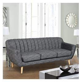 ספה תלת מושבית מעוצבת עם קפיצים מבודדים ובד רחיץ מבית HOME DECOR דגם פורטו
