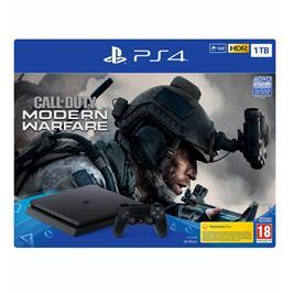 קונסולה פלייסטיישן PlayStation 4 Slim 1TB  בקר אחד Call Of Duty CUH-2216B-CODMW