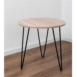 שולחן סלוני עגול מודרני מבית BRADEX דגם KRISTOFF