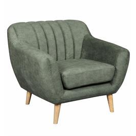 כורסא מעוצבת בעיצוב רטרו עם ריפוד בד רחיץ HOME DECOR דגם פורטו