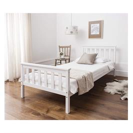 מיטת יחיד לילדים ונוער מעץ מלא מבית BRADEX דגם PROSPER