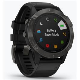 שעון הספורט המתקדם ביותר בעולם עם מגוון פעולות מבית GARMIN דגם fenix 6 Sapphire