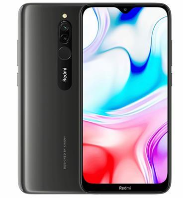 """סמארטפון 6.22"""" 32GB מצלמה 12MP+2MP תוצרת XIAOMI דגם Redmi 8 יבואן רשמי המילטון"""