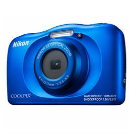 מצלמה קומפקטית עמידה במים 13.2MP זום X4 מבית NIKON דגם COOLPIX W150 אחריות יבואן רשמי!