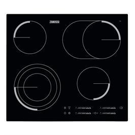 """כיריים חשמליות זכוכית קרמית  60 ס""""מ תוצרת ZANUSSI דגם ZEV6747FBA"""