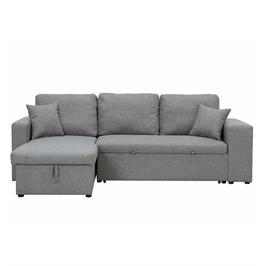 מערכת ישיבה פינתית נפתחת למיטה כולל ארגז מצעים מבית DIVANI דגם ברונקס