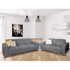 מערכת ישיבה 3+2 מעוצבת בסגנון מודרני מבית Vitorio Divani דגם ברוקלין