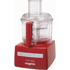 מעבד מזון מקצועי MAGIMIX דגם C3200RB בצבע אדום + משקל מטבח של MAGIMIX מתנה!