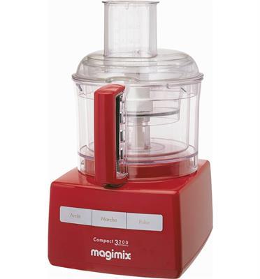 מעבד מזון מקצועי MAGIMIX דגם C3200RB בנפח 2.6 ליטר בצבע אדום