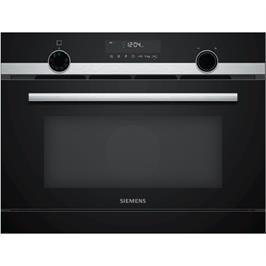 """תנור אידוי משולב מיקרו גריל בגובה 45 ס""""מ מסדרת IQ500 תוצרת SIEMENS דגם CO565AGS0"""