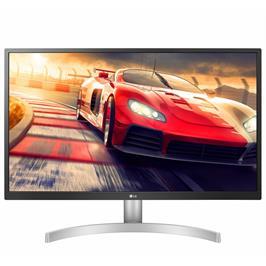 """מסך מחשב LED 27"""" ברזולוציית 4K UHD עם פאנל IPS, תמיכה בתקן HDR 10 דגם 27UL500-W"""