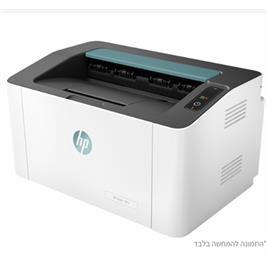 מדפסת אלחוטית תוצרת HP דגם HP Laser 107w Printer