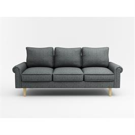 ספה תלת מושבית בסגנון רטרו מבית BRADEX דגם ARTO