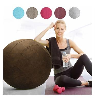 כדור ישיבה מדליק עם בד קטיפתי מבית HOME DECOR דגם Sitting Ball