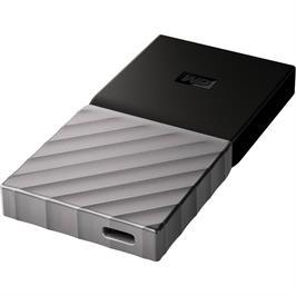 כונן חיצוני TYPE C My Passport SSD בנפח TB2, מהיר USB 3.1 , מוצפן, מוגן ובעל עיצוב יוקרתי במיוחד! WDBKVX0020PSL-WESN
