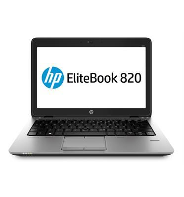 """מחשב נייד HP EliteBook דגם 820 G1 בעל מסך 12.5"""" מעבד I5 זיכרון 4GB דיסק קשיח 128GB SSD ומערכת הפעלה Windows 10 Home מחודש"""