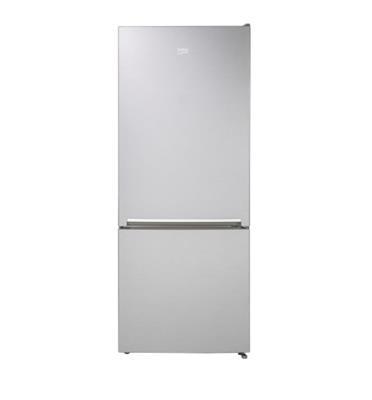 מקרר 2 דלתות עם מקפיא תחתון 415 ליטר בגימור לבן תוצרת BEKO דגם RCNT415I00ZW
