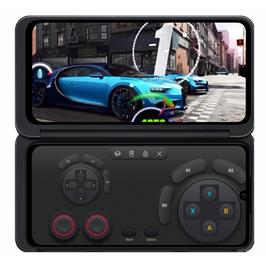 """סמארטפון מתקפל עם שני מסכים 6.4"""" 128GB מצלמה 13MP תוצרת LG דגם LG G8X THINQ"""