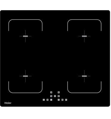 """כיריים אינדוקציה 60 ס""""מ 4 אזורי בישול  בגימור שחור זכוכית תוצרת HAIER דגם HOD-9500"""
