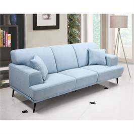 ספה תלת מושבית מעוצבת עם ריפוד דוחה נוזלים HOME DECOR דגם סטנלי
